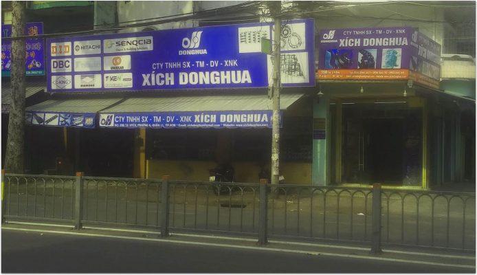 hình ảnh công ty xích donghua 694x400 - Công ty TNHH SX TM DV XNK XÍCH DONGHUA