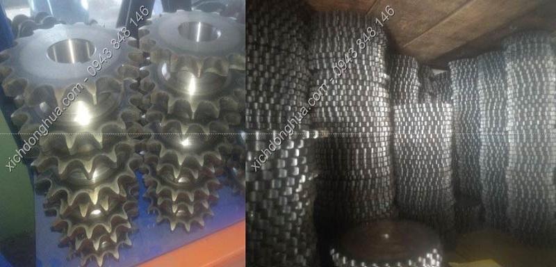 nhông xích - Công ty TNHH SX TM DV XNK XÍCH DONGHUA