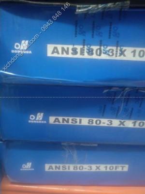 xích ANSI 3 dãy 80 3 medium - Xích Công Nghiệp